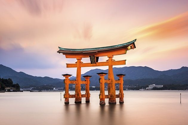 Shinto rituals in Japan shore excursions