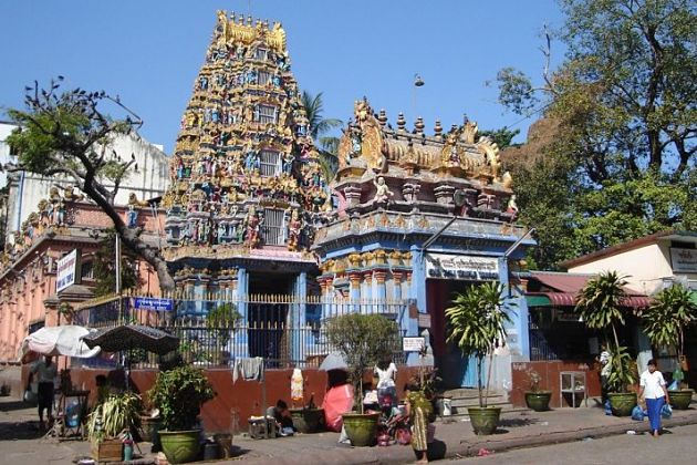 Shri Kali Temple - Yangon shore excursions