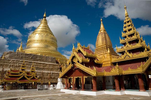 Shwezigon Pagoda - Bagan shore excursions