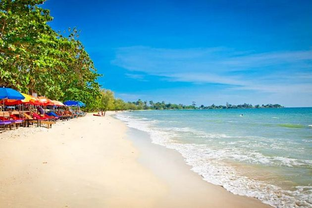 Sihanoukville Beach - Cambodia shore excursions