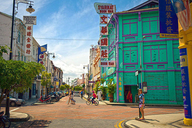 Street of Harmony - Penang shore excursions