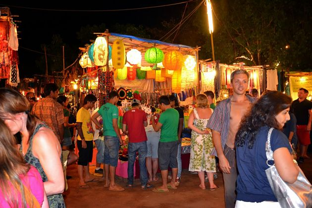 Arambol Beach nightlife - Goa shore excursions