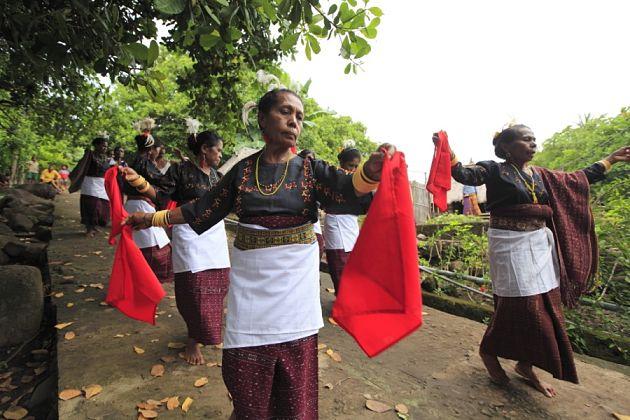 Korke Lamaholot ethnic
