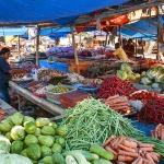 Larantuka morning market