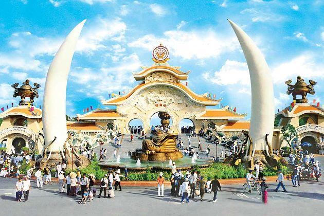 Suoi Tien Park - Phu My shore excursions