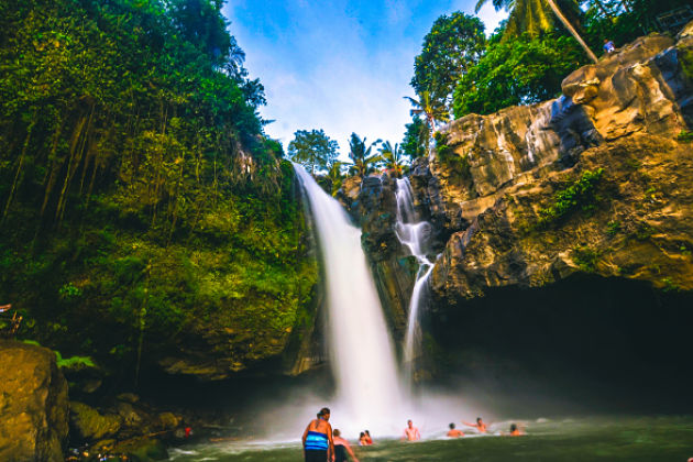 Tegenungan waterfall in Bali