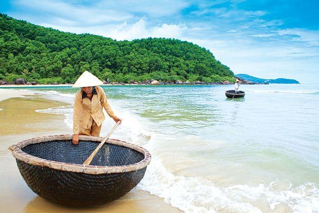 beach in Da Nang shore excursions