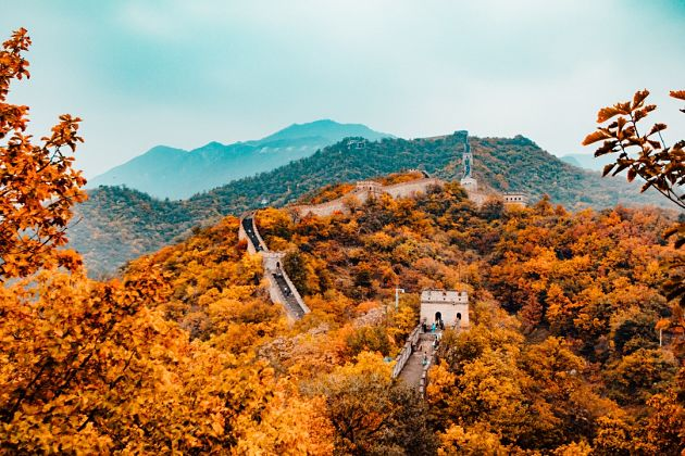 Beijing shore excursions in autumn