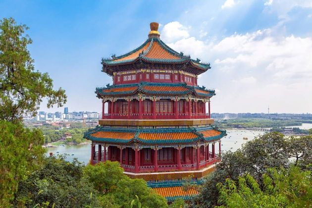 Beijing shore excursions in summer