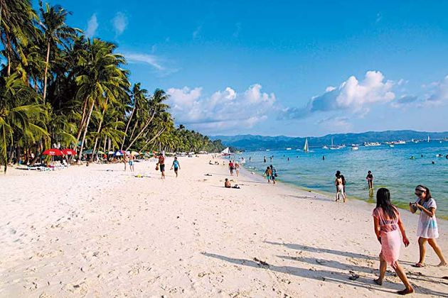 Boracay shore excursions - weather in wet season
