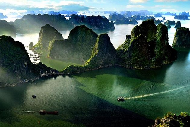 Halong bay shore excursions weather by months