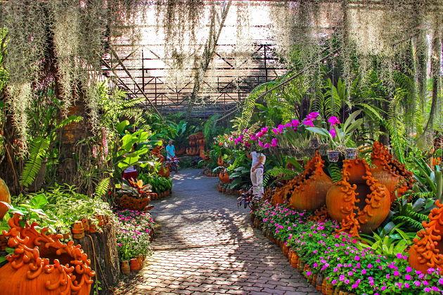 Nong Nooch tropical gardens in Pattaya