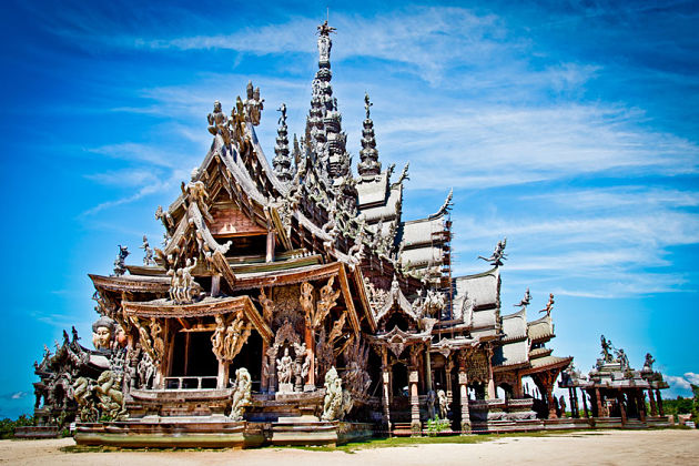 Sanctuary of Truth in Pattaya shore excursions