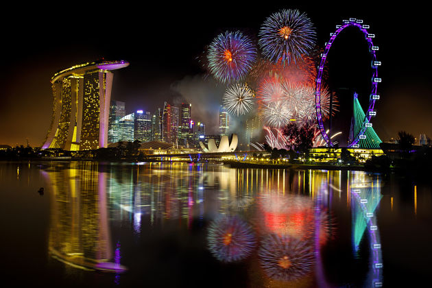 Singapore New Year Eve