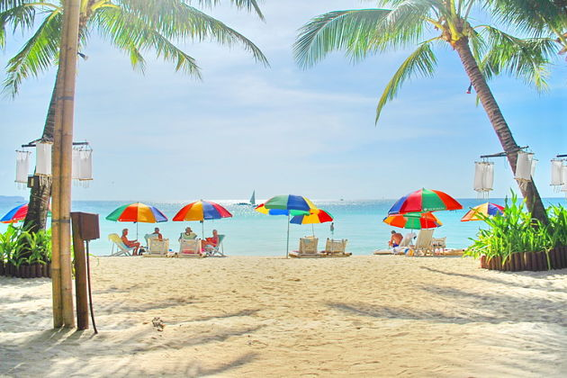 beach in Boracay shore excursions