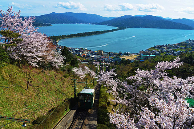 Amanohashidate View Land train