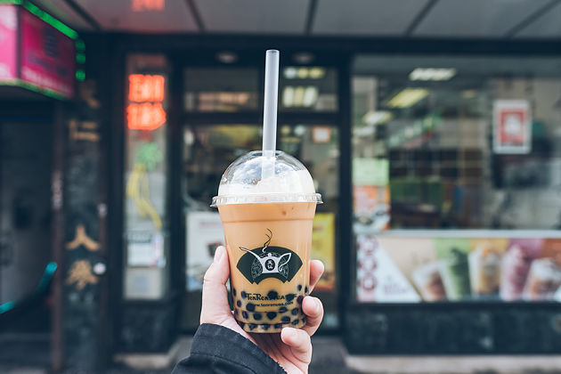 Bubble Tea - Hong Kong street food