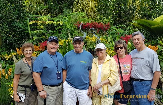 Feedback - Singapore shore excursions 9 Jan
