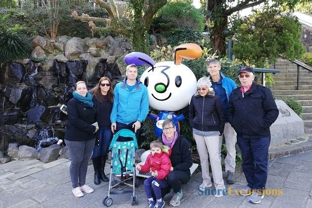 Feedback on Nagasaki shore excursions Ms Greer