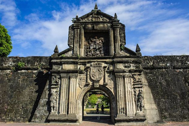 Fort Santiago in Intramurous