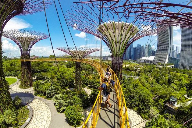 Gardens by the Bay in Singapore shore excursions