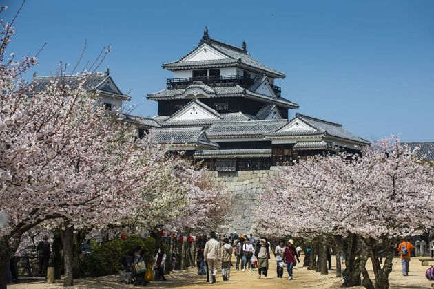 Matsuyama Castle - Matsuyama shore excursions