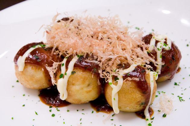 Takoyaki Balls - Hong Kong street food
