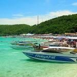 speedboat to Koh Lan Island
