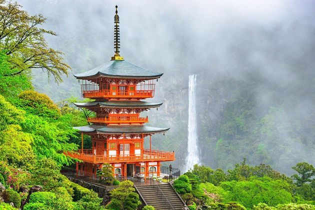 Nachi Falls - Shingu shore excursions