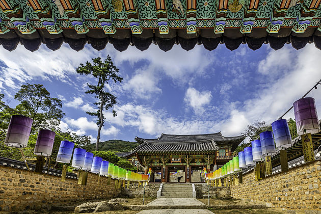 Beomeosa Temple of the Nirvana Fish Busan shore excursions