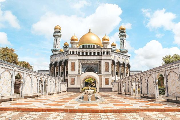 Jame Asr Hassanil Bolkiah Mosque - Brunei shore excursions