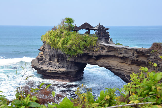 Tanah Lot Temple in Bali shore excursions