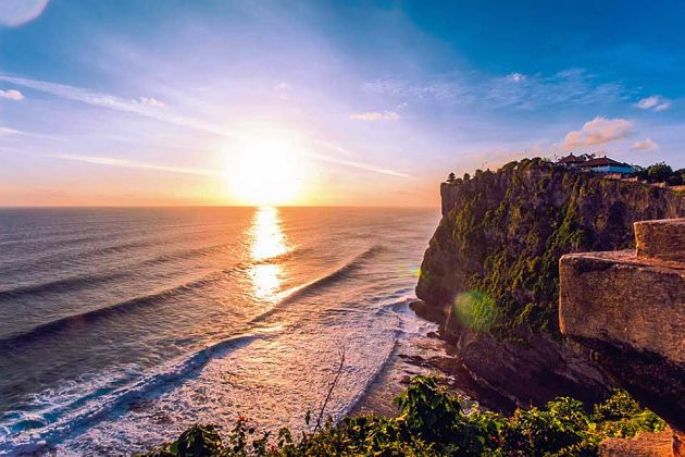 Uluwatu Temple in Bali shore excursions