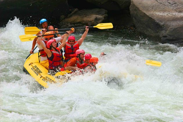 White-water Rafting in Kitulgala