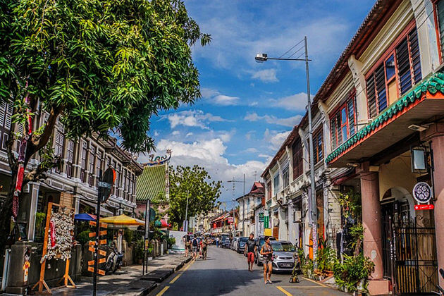 Geogre-Town-in-Penang-shore-excursions