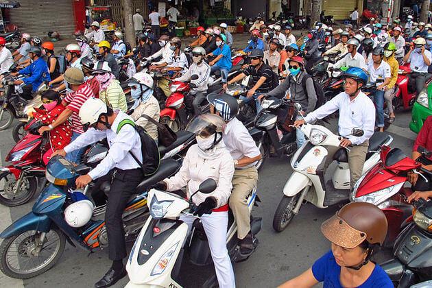 Hanoi-Traffic-jam