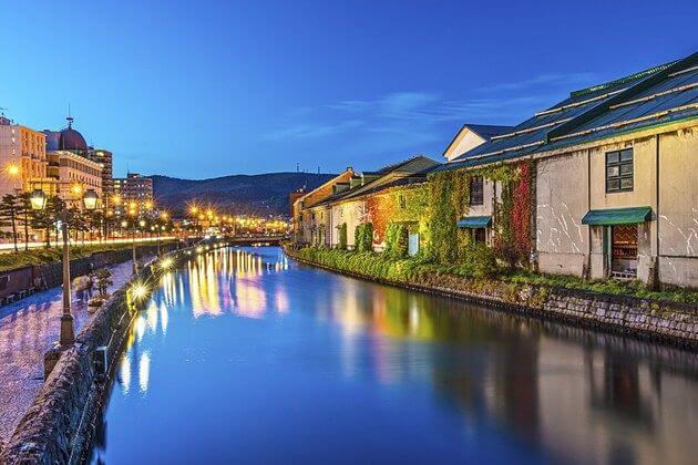 Otaru-Canal-japan-shore-excursions
