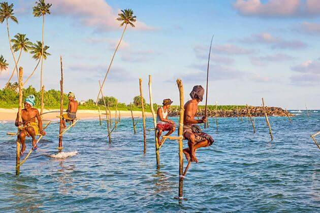 Stilt Fishermen in Galle - Colombo shore excursions