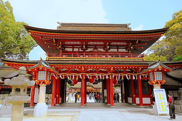 Tenmangu-shrine-Fukuoka-shore-excursions