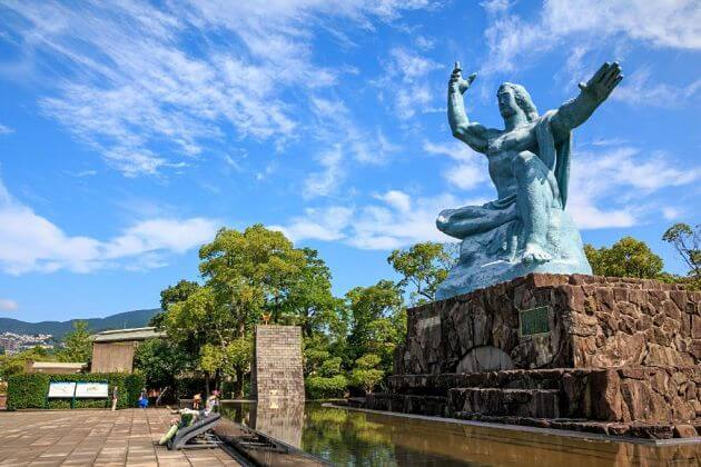 Peace-Memorial-Park-in-Nagasaki-shore-excursions