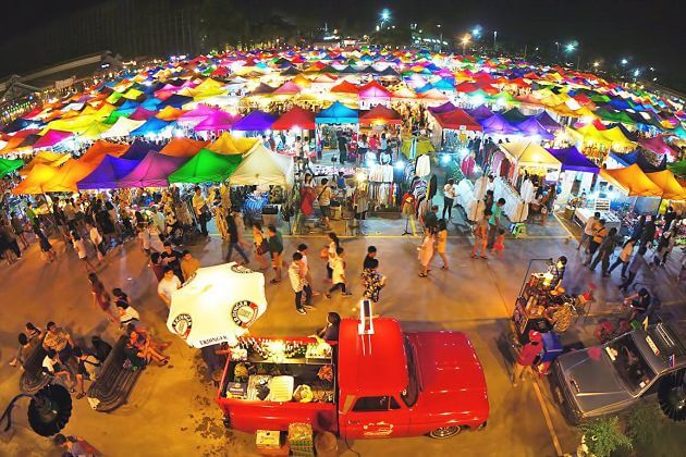 Best Night Markets in Thailand