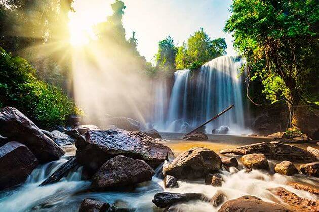 Kbal Chhay Waterfalls Sihanoukville shore excursions