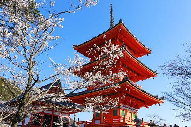 Kiyomizudera Temple Kyoto tour from Kobe port