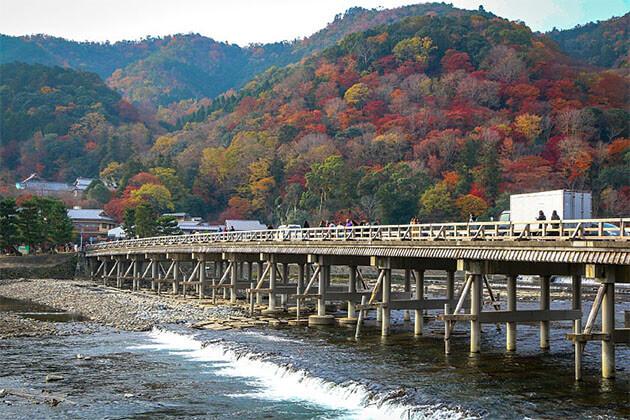 Togetsukyo Bridge Japan Shore Excursions