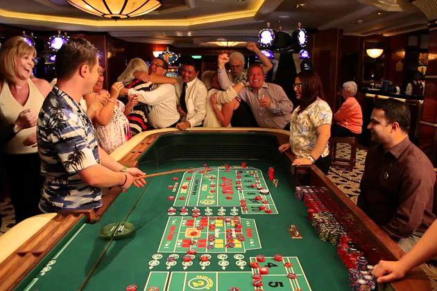 Casino activities to do night onboard