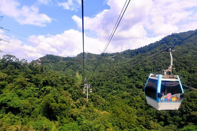 Maokong Gondola Taipei shore excursions