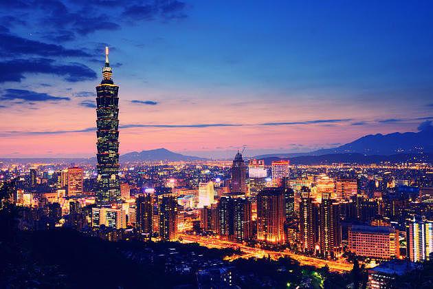 Taiwan nightlife taipei nightview