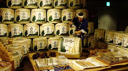 Osaka Sightseeings & Sake Brewery Experience