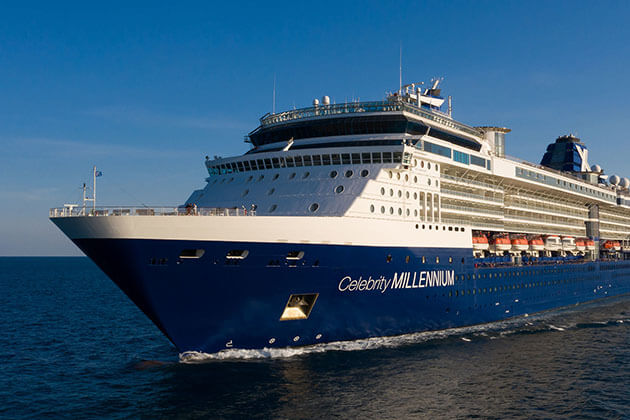 Celebrity Millennium Cruise Excursions 28 Mar – 10 Apr 2020