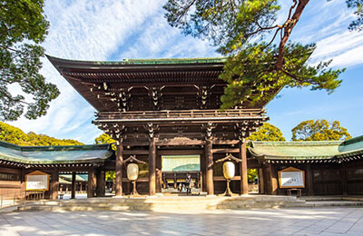 Meiji Shrine Asia Shore Excursions